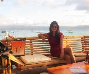 Sunset cafe in Boracay