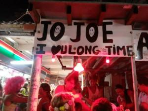 Bucket stall at the full moon party