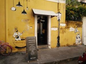 Entry at Cafe Des Arts