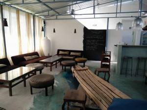 Upstairs bar lounge at Opus 8