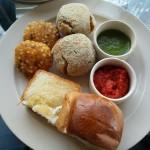 Mouth watering Bihari delicacies at Potbelly Rooftop Cafe
