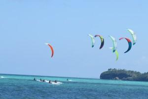 Kite Surfing on White Beach, Boracay