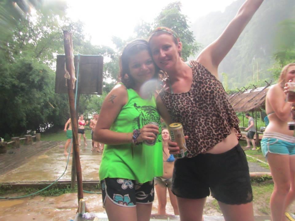 Drinking & Dancing in the Rain
