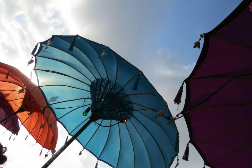 Cute Beach Umbrellas Bali