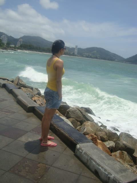 Watching the waves - Phuket