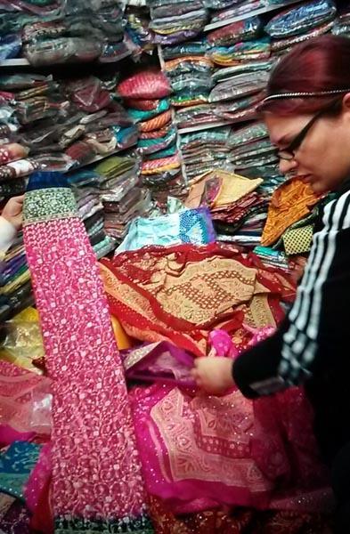 sari shopping jaipur