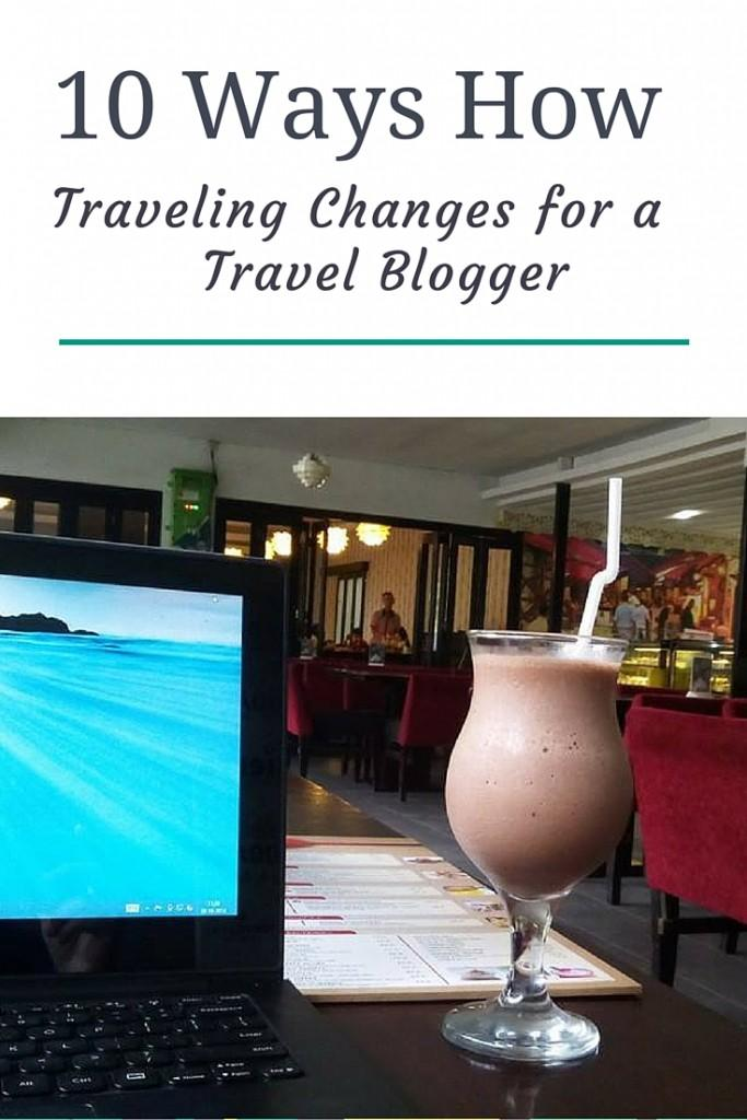 travel as a travel blogger