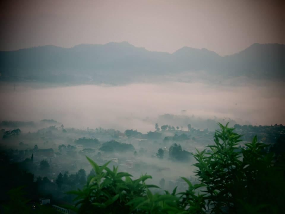 View from top of Gunung Batu