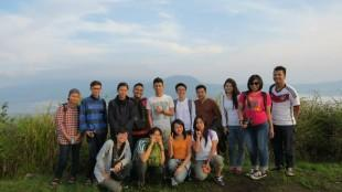 group hiking picture