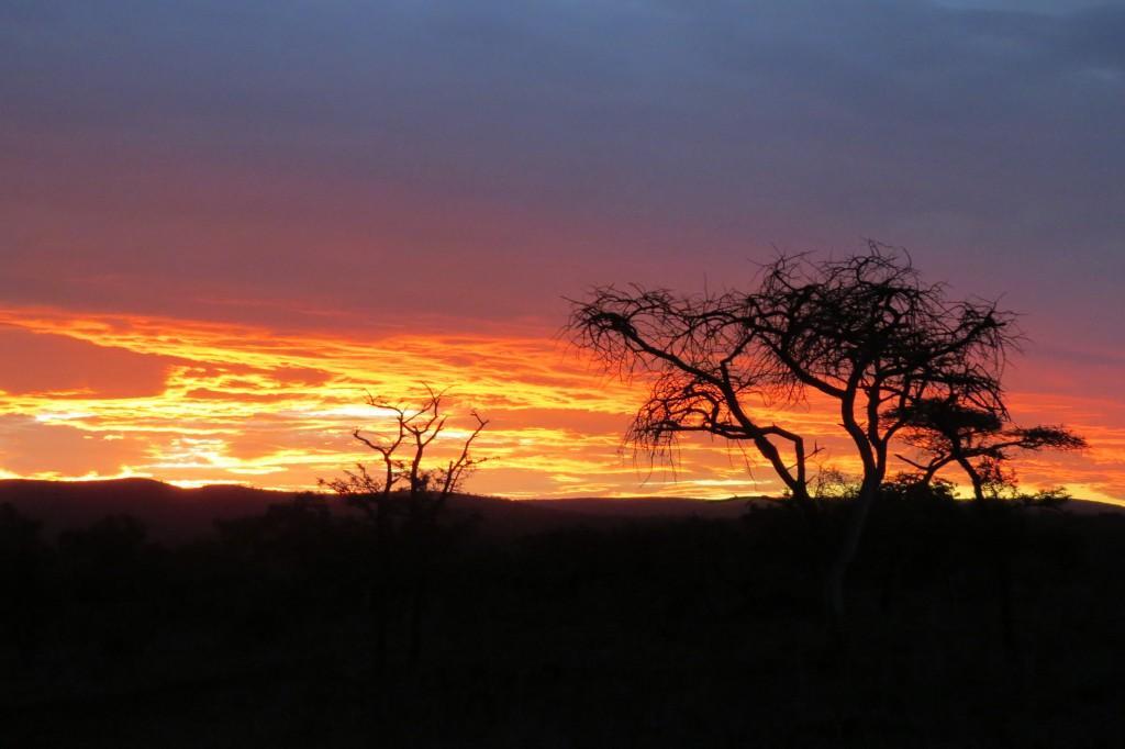Sunset zululand