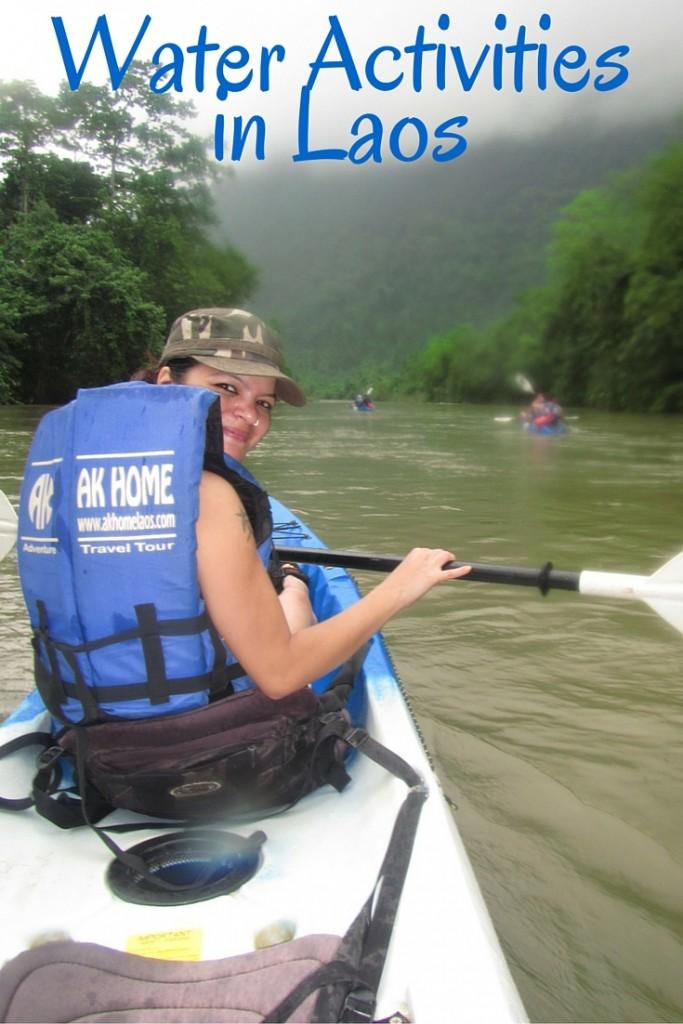 water activities in vang vieng