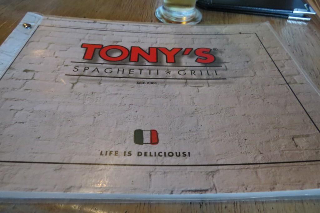 Tonys Spaghetti Grill