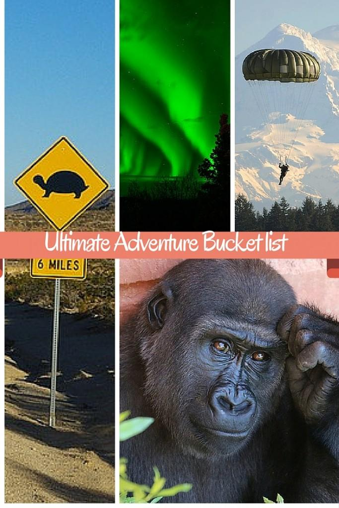 adventure bucket list