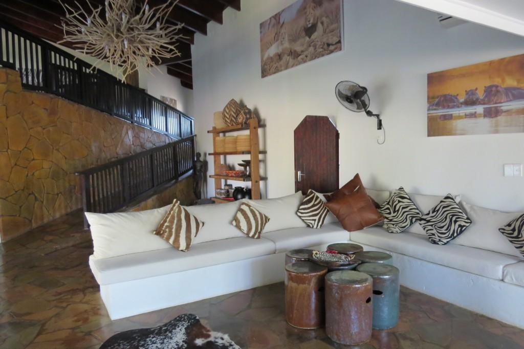 decor of zebra hills