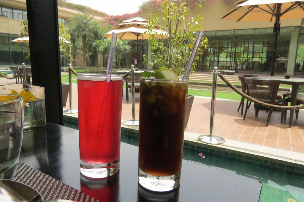 Roohafza and Masala coke