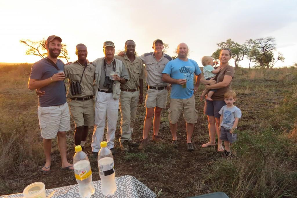 sundowners in bush