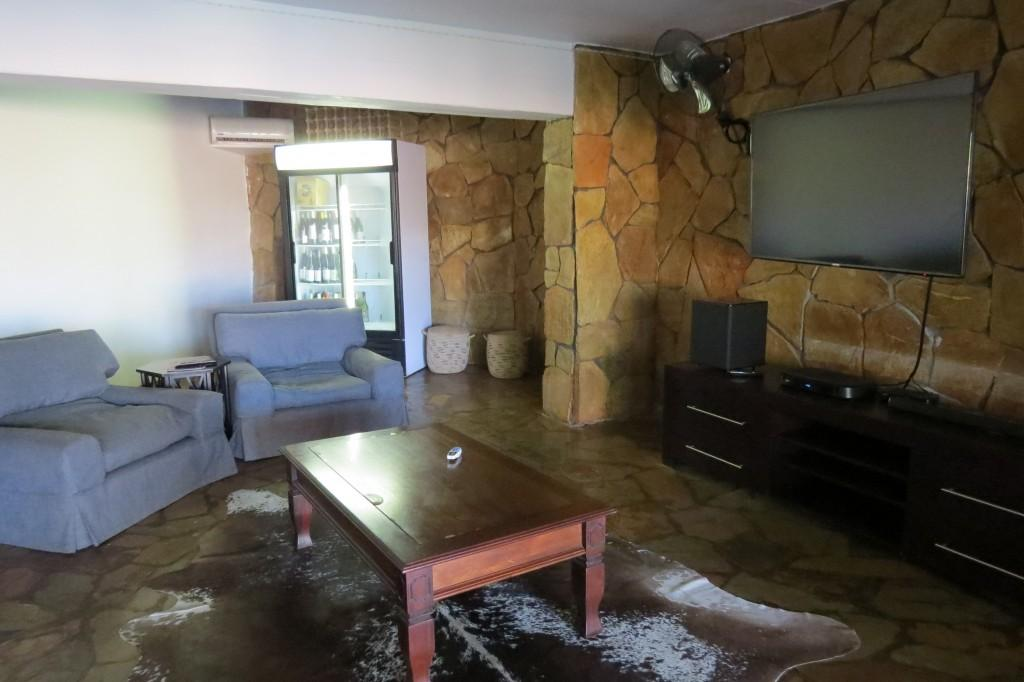 TV lounge at Zebra Hills