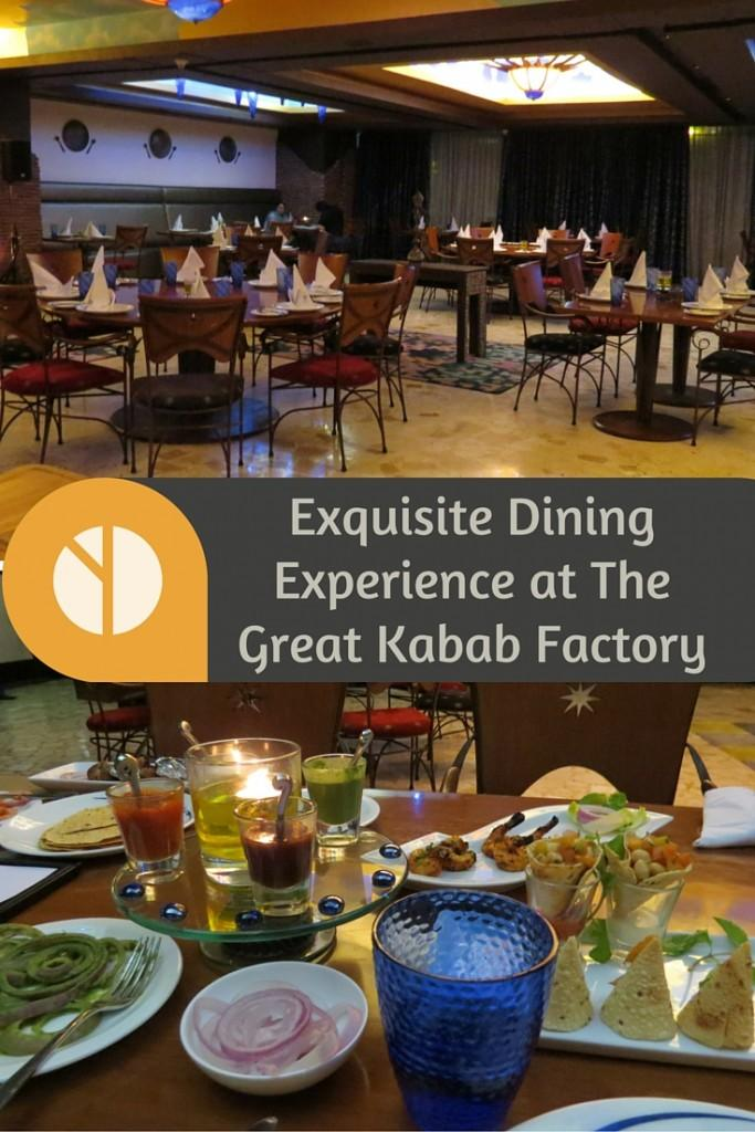 Exquisite Dining Experience at the Great Kabab Factory, Pune, India