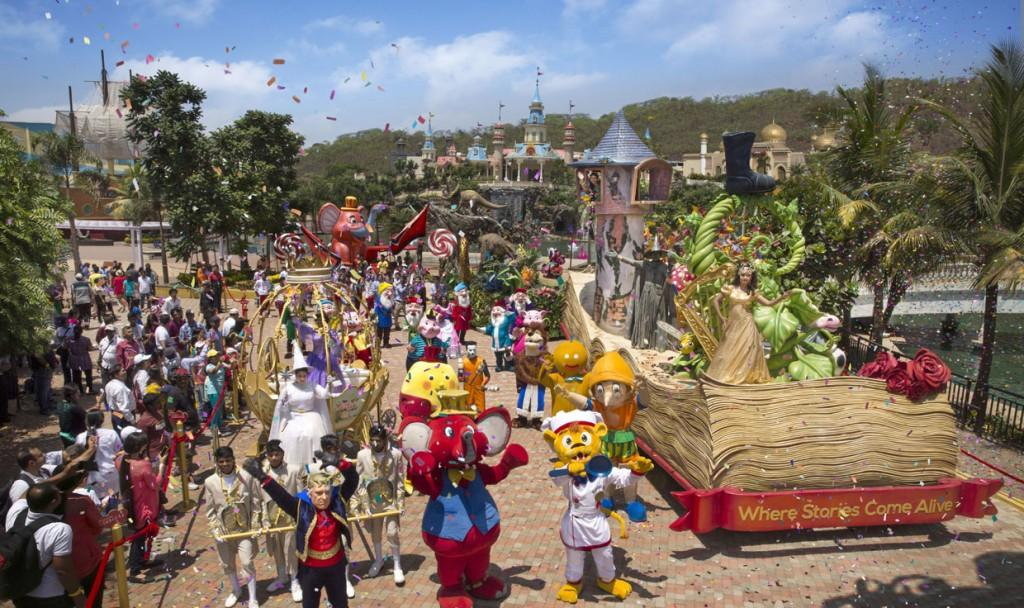 Imagica grand parade is not to be missed