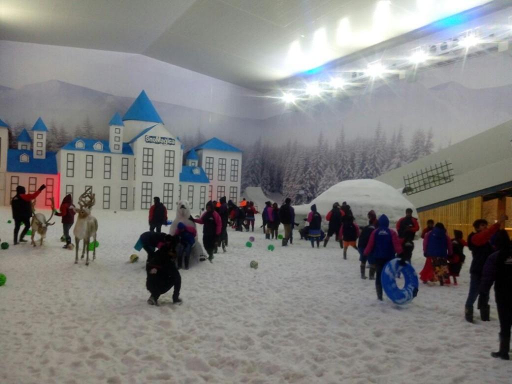 imagica snow park images