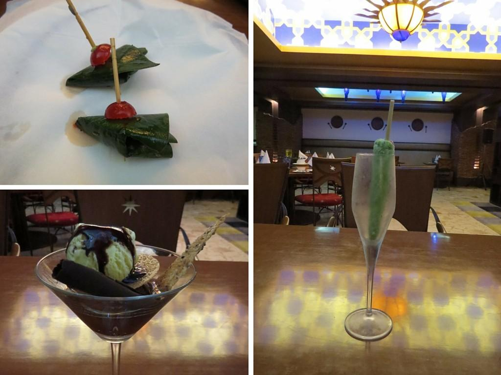 Amazing desserts - Paan, sundae and Paan kulfi