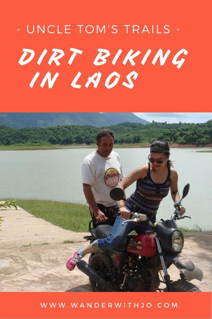 dirt biking in laos