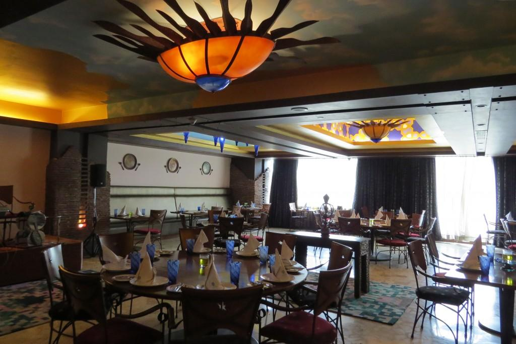 Authentic decor & elegant seating at The Great Kabab Factory
