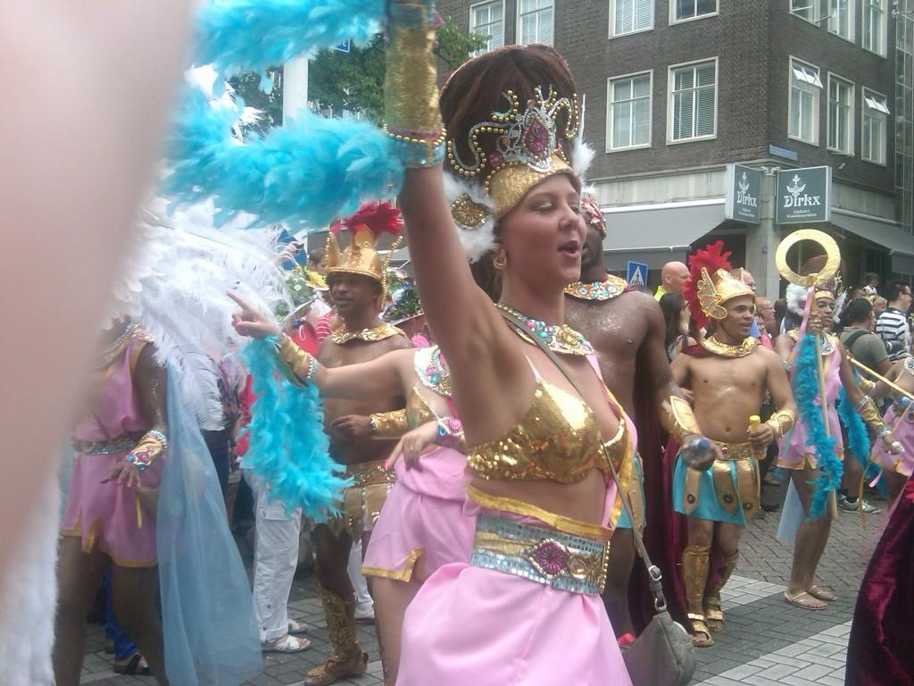 high spirits at zomercarnival in rotterdam