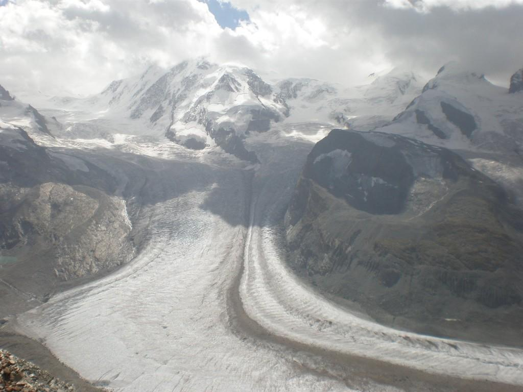 Snow covered landscape - Stunning view from Gornergrat