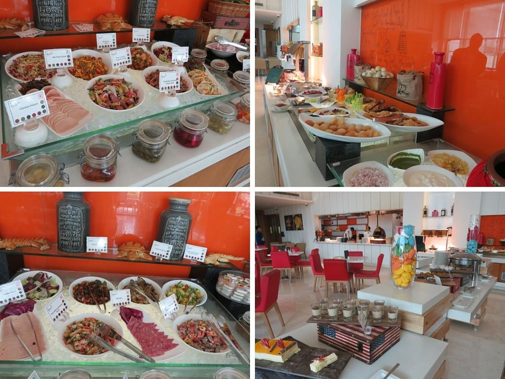 Just few of the buffet delights