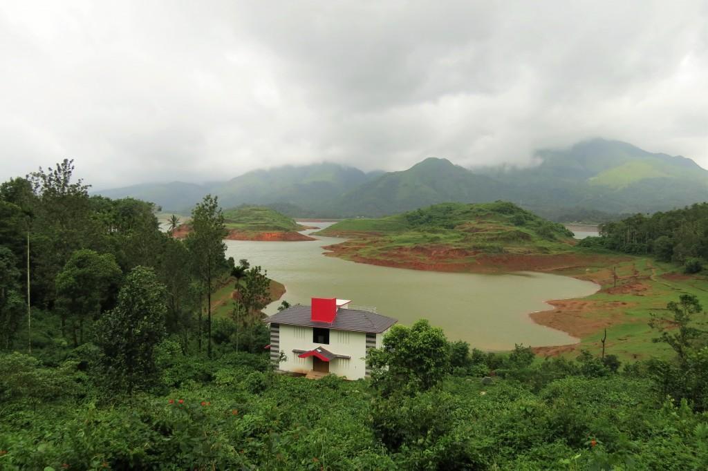 Banasura Sagar Dam viewpoint