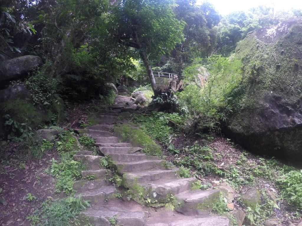 Walking further up these rugged stairs takes you to the Edakkal caves