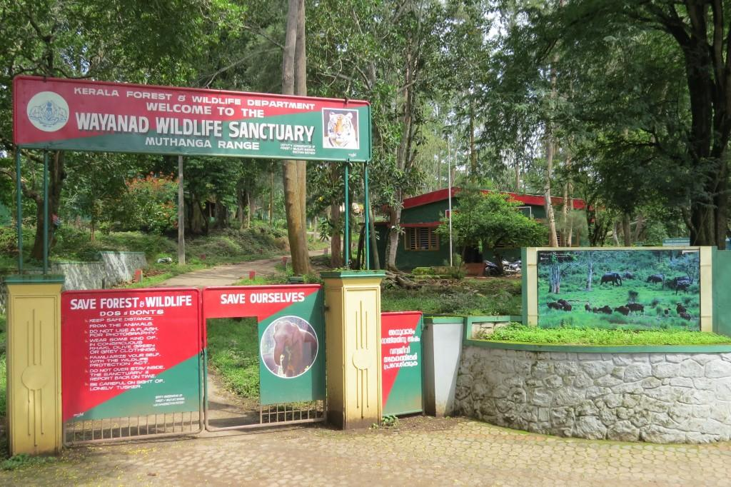 Entry to Muthanga