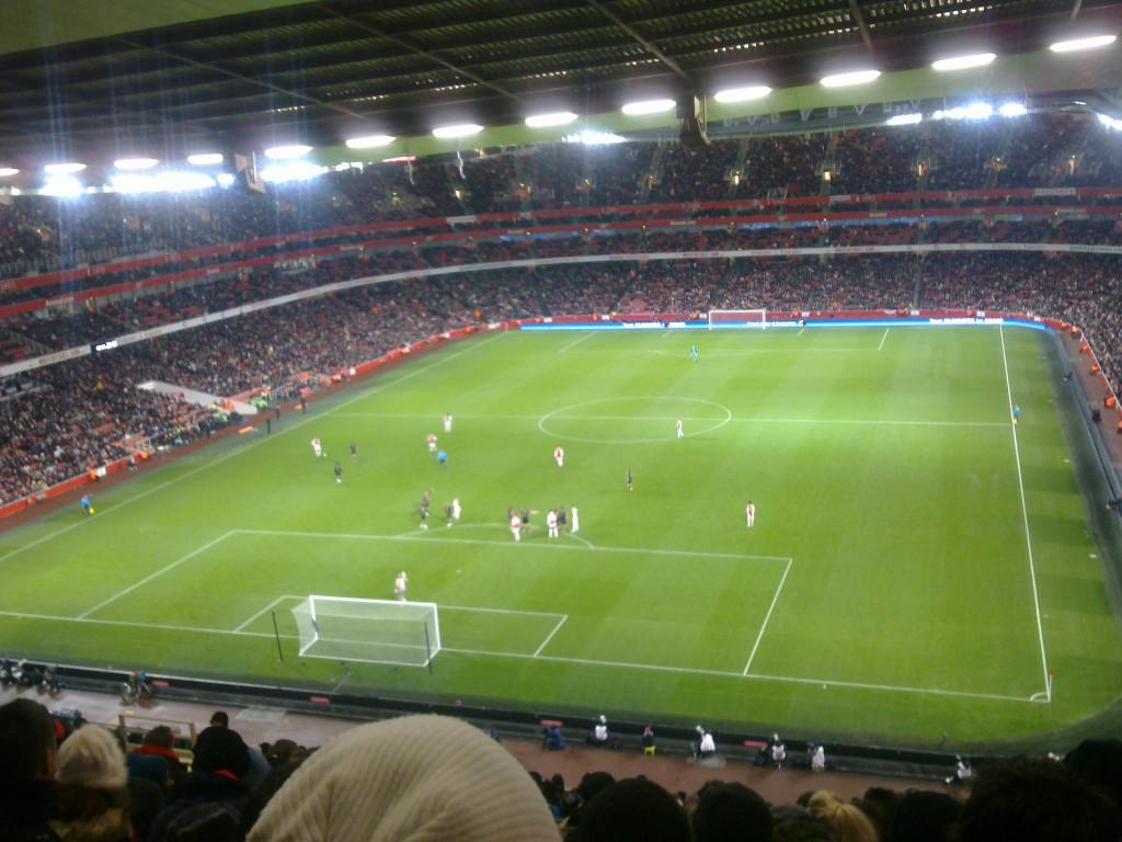 soccer match in uk
