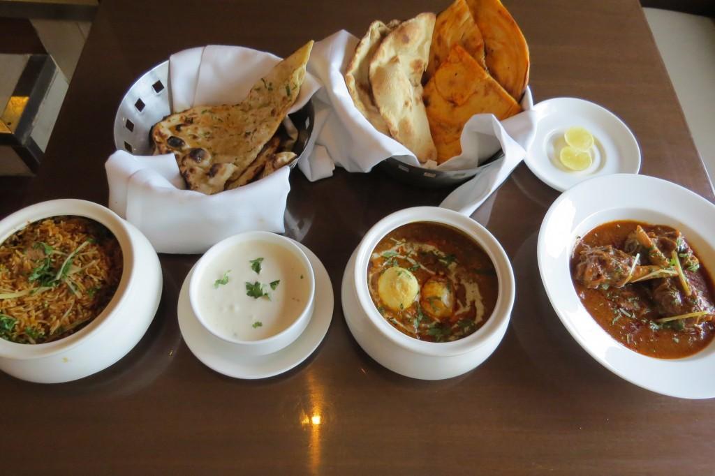 Main course - Chicken briyani, Raita, Matki Murgh,Nalli Nihari, Rogani Naan,Khameeri Roti