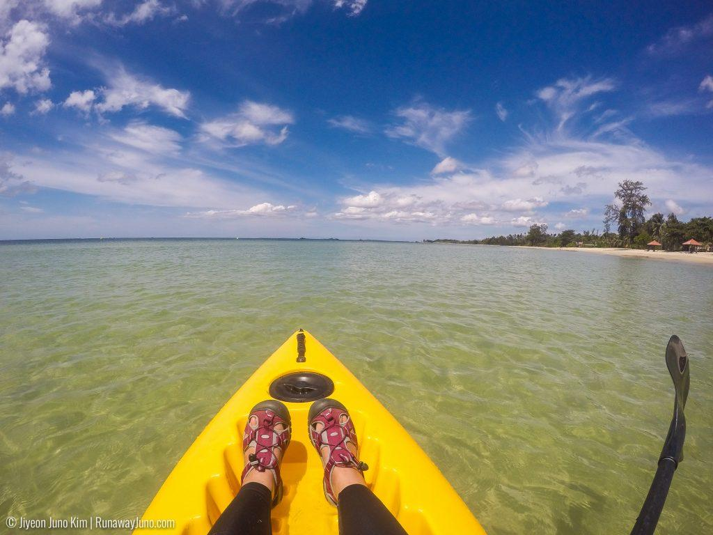 Kayaking in Bintan