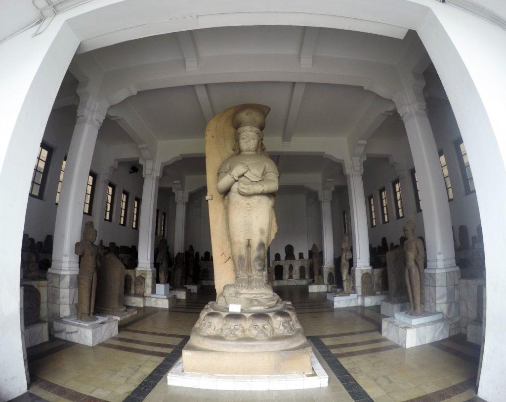 bhairawa statue at national museum jakarta