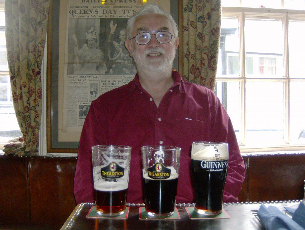 ..And occasionally my father with beer