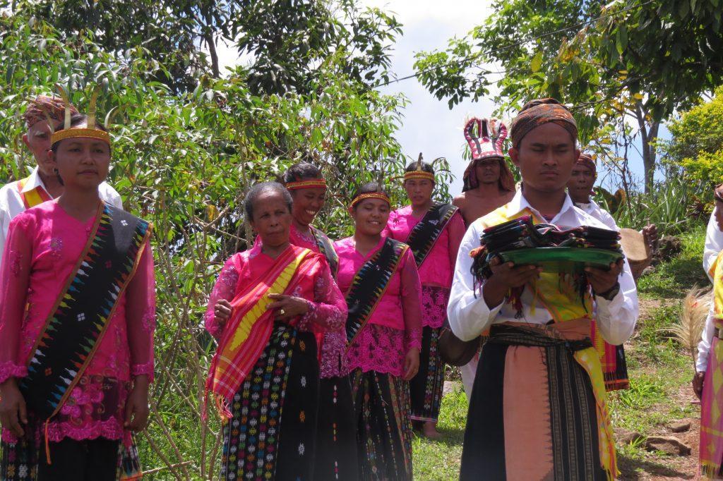 Warm welcome by The Manggarai people