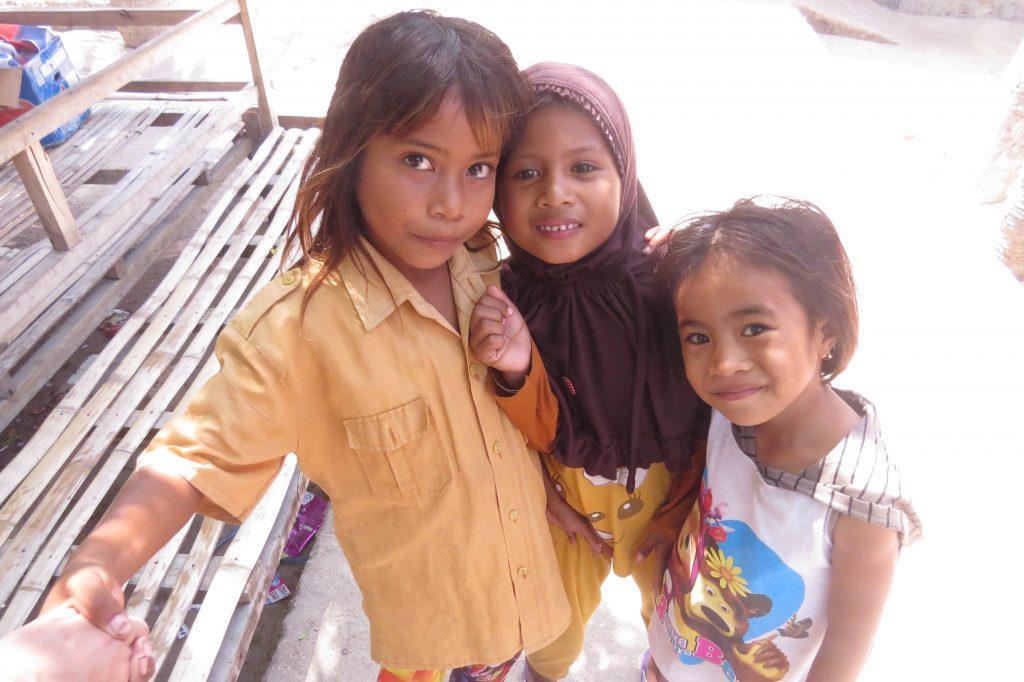 Kids at mesa village