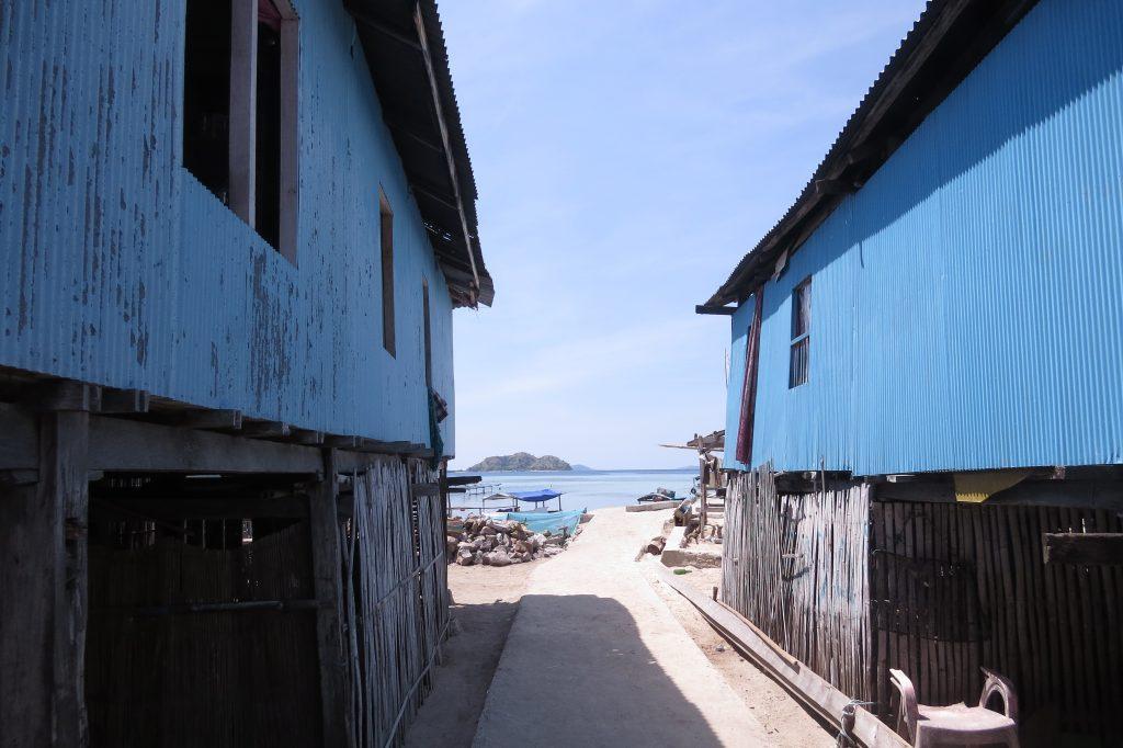Cute houses at the Mesa Village