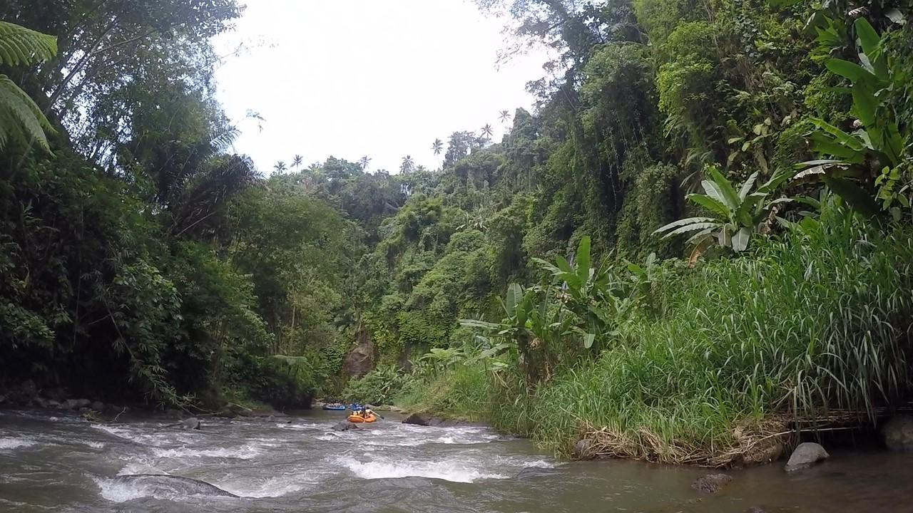Rafting on river Ayung, Ubud