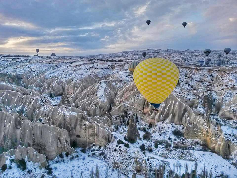 Cappadocia in Snow