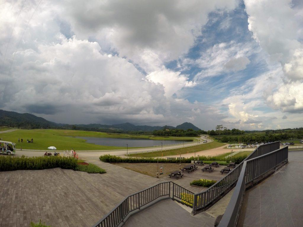 Bird eye view of Singha Park