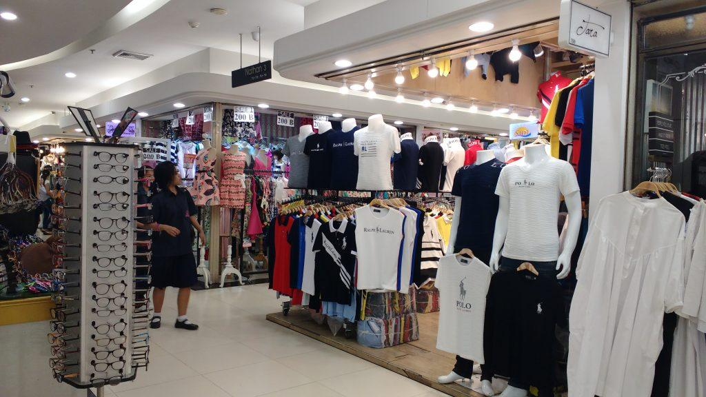 Clothes galore at Platinum fashion mall