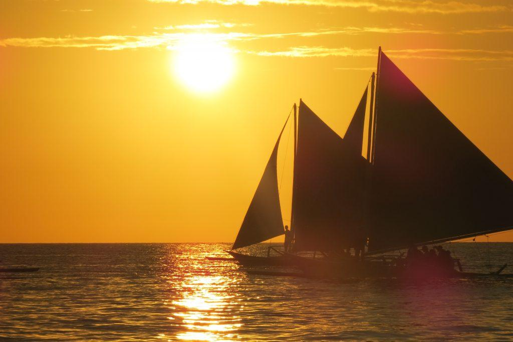 Breathtaking sunsets in Boracay