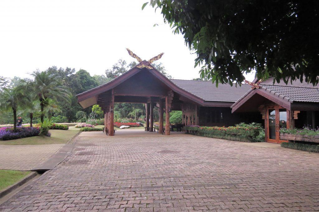 Entry to Doi Tung Villas