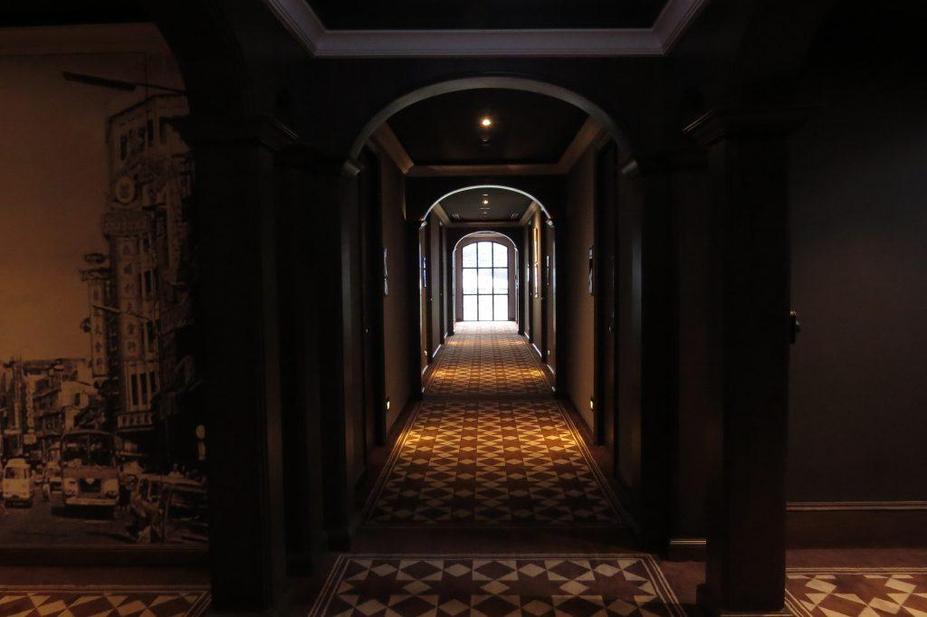 Stunning corridors at each level
