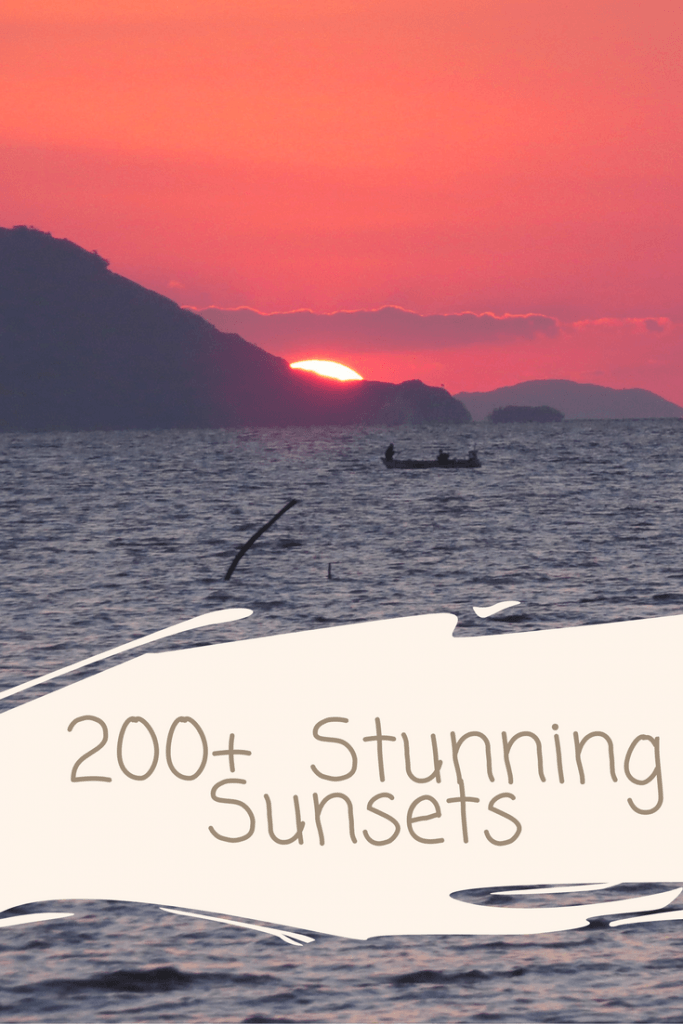 stunning sunset shots