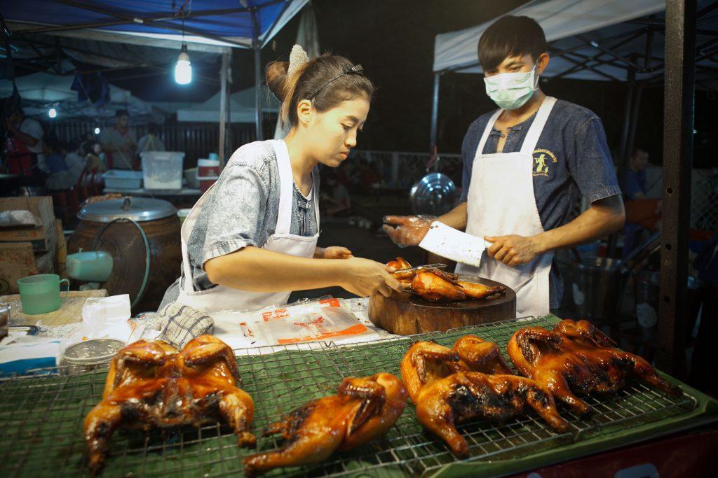 CHIANG RAI 7 PLACES TO VISIT Street food at Chiang Rai walking street